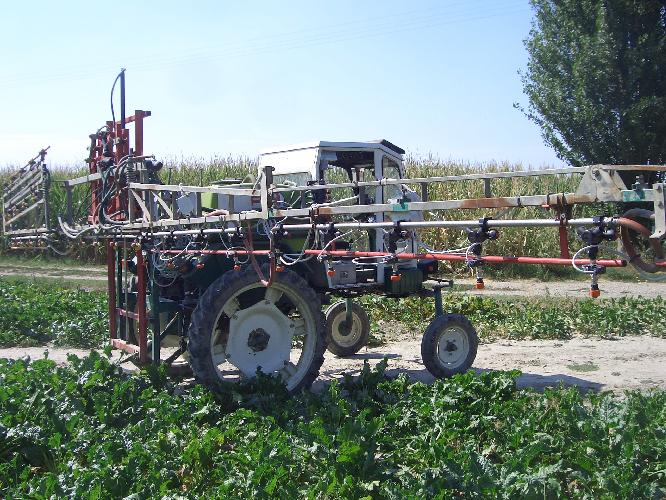 Agrofarmaci, tecnica a getto 'intermittente' e risparmio
