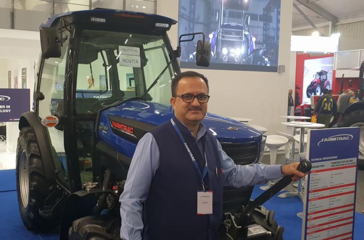 Eima, Farmtrac promette tecnologia a prezzi contenuti