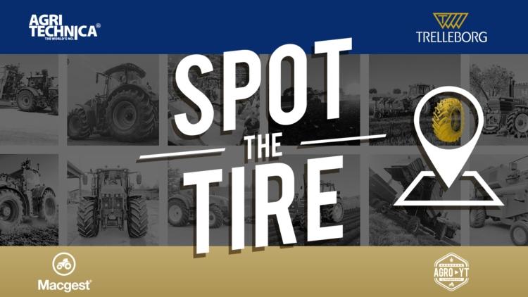 Agritechnica, pneumatici protagonisti con #SpotTheTire