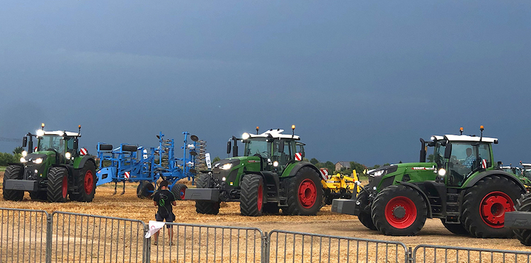 Dieselross 2019: festa mobile con Fendt