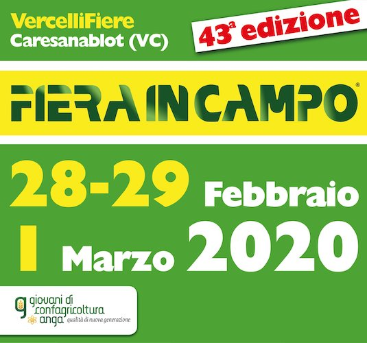 EVENTO SOSPESO - Fiera in campo 2020