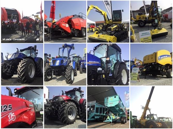 #FieraMeccAgricola, il reportage multimediale: trattori, attrezzature, tecnologie