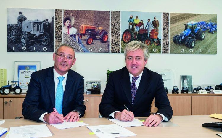 Accordo globale New Holland - Marangon