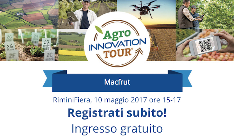 """Idee giovani per il Made in Italy"", AgroInnovation Tour ti aspetta a Macfrut"