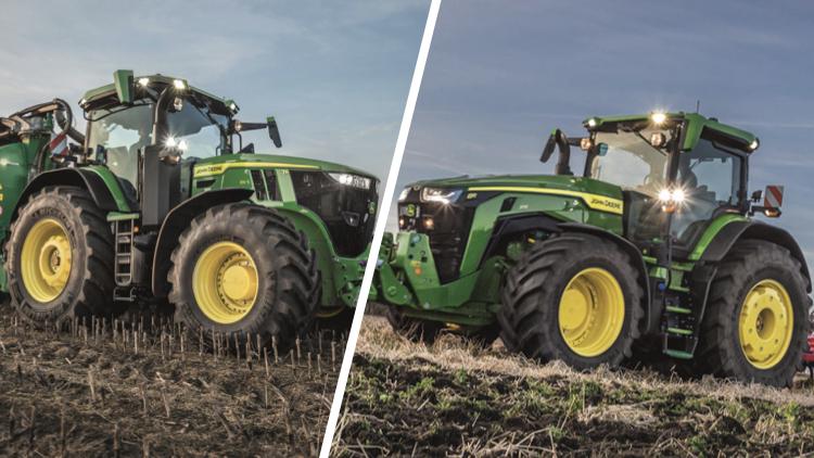 John Deere 8R e 7R tutti nuovi ad Agritechnica 2019