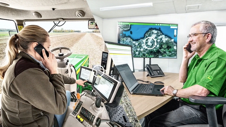 Connected Support<sup>™</sup> di John Deere, mai stati così vicini