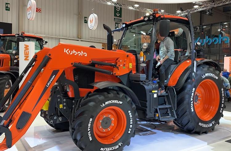 Nuova Serie M6002: mix di tecnologia by Kubota