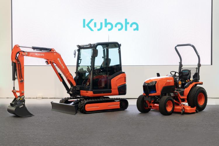 Kubota, go electric