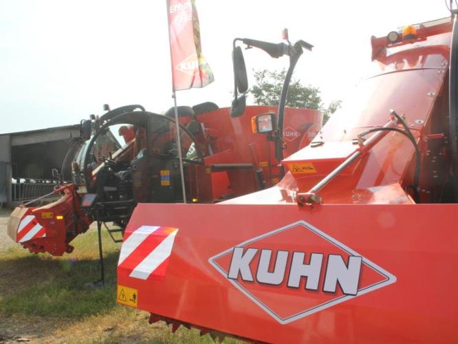 Kuhn, nuove macchine per un nuovo modo di allevare