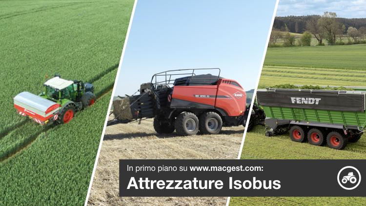 Macchine agricole, sempre più comunicative