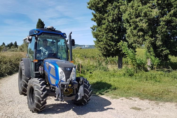 """Il """"tridente"""" Argo Tractors ad Enovitis in Campo 2019"""