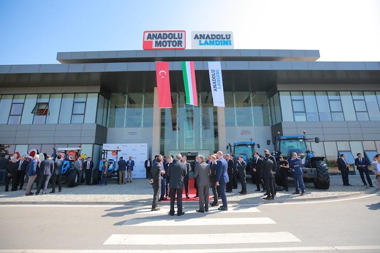 Avviato in Turchia il nuovo sito produttivo di Anadolu-Landini