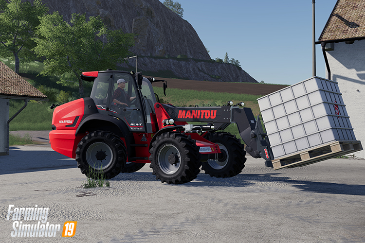 Manitou Group ora su Farming Simulator 2019