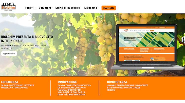 Biolchim presenta il nuovo sito istituzionale - le news di Fertilgest sui fertilizzanti