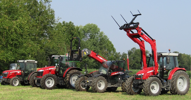 Massey Ferguson on the road... con i propri diamanti
