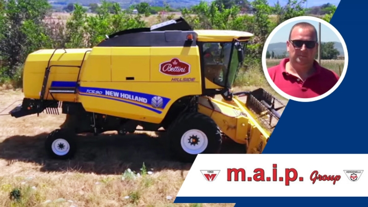 Raccolta senza limiti con New Holland TC5.90
