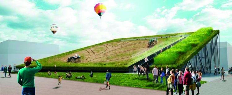 New Holland e l'agricoltura sostenibile ad Expo 2015