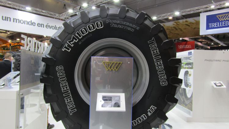 [LIVE da #SIMA2019] Trelleborg TM1000 ProgressiveTraction® in primo piano a Parigi
