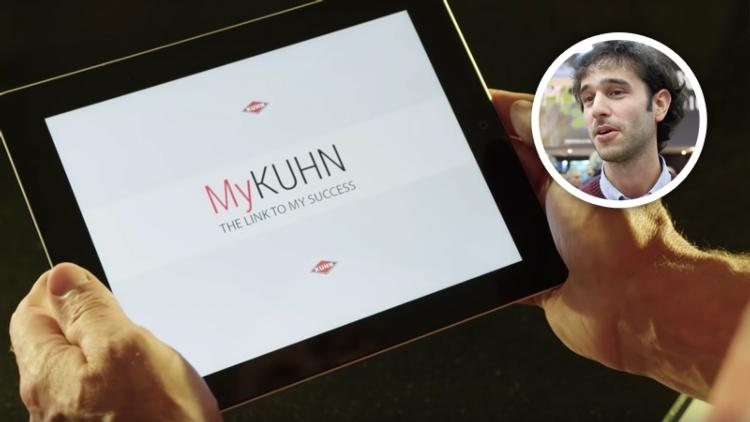 MyKUHN: la tecnologia per piccole e grandi aziende agricole