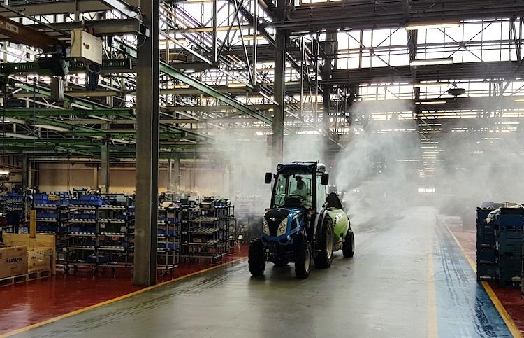 """Argo Tractors, ambienti """"Covid-19 free"""" per la ripartenza"""