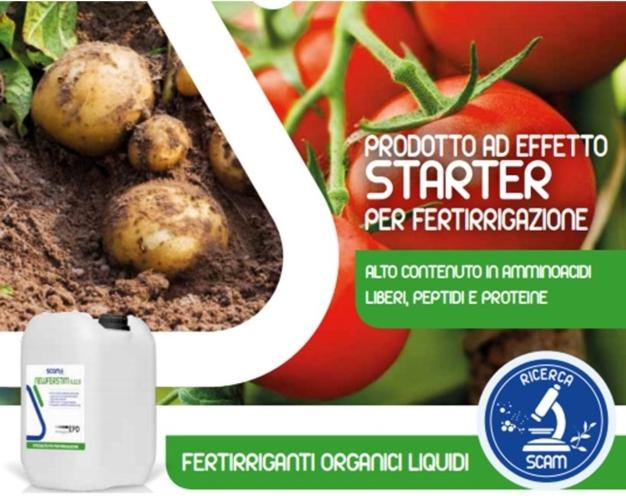 Newfertstim: la fertirrigazione a effetto starter - le news di Fertilgest sui fertilizzanti