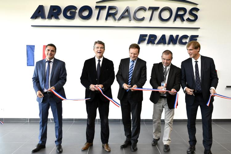 Argo Tractors cresce in Francia