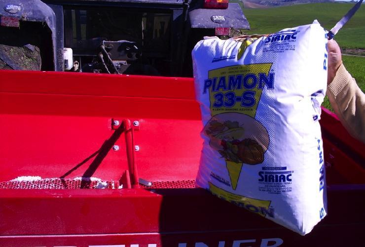 Concimazione dei cereali in copertura: tempo di Piamon 33-S