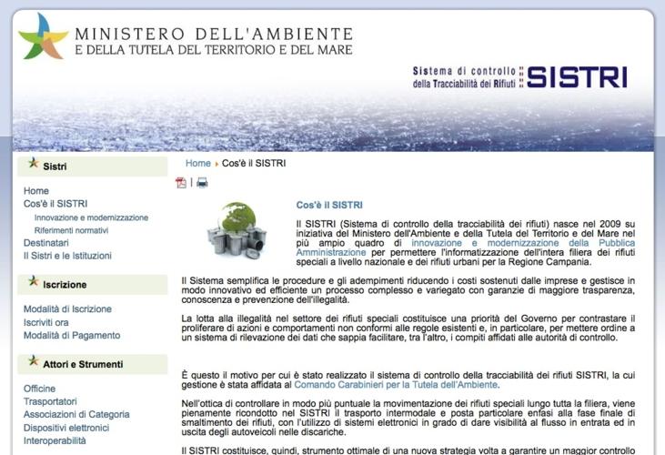 sistri-sito