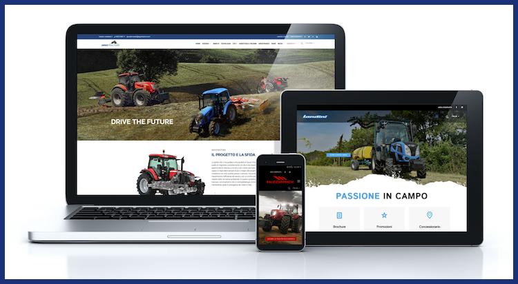 Argo Tractors a portata di click