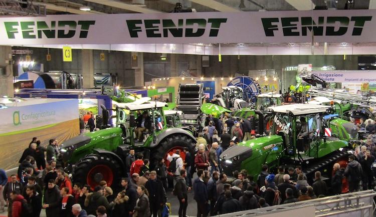 Full-line Fendt per la prima volta a Verona