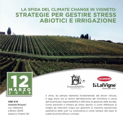Vigneto e cambiamenti climatici - Plantgest news sulle varietà di piante