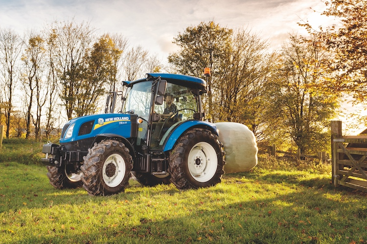 New Holland e i tulipani