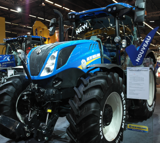 [LIVE da #SIMA2019] New Holland T6.160 in anteprima a Sima 2019