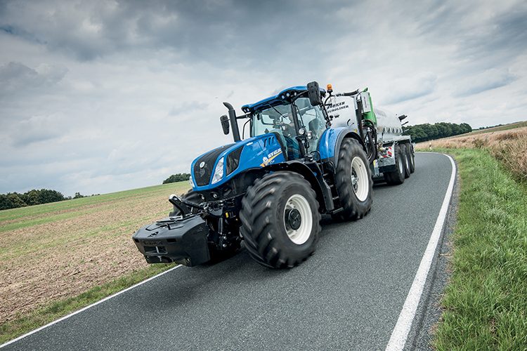 "New Holland presenta ""l'Intelligent Trailer Braking"""