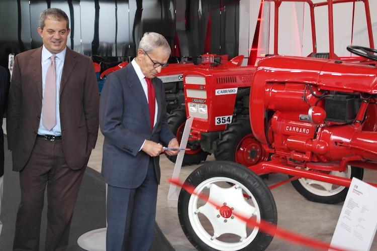Nasce il museo oscar carraro agronotizie agrimeccanica for Forum trattori carraro