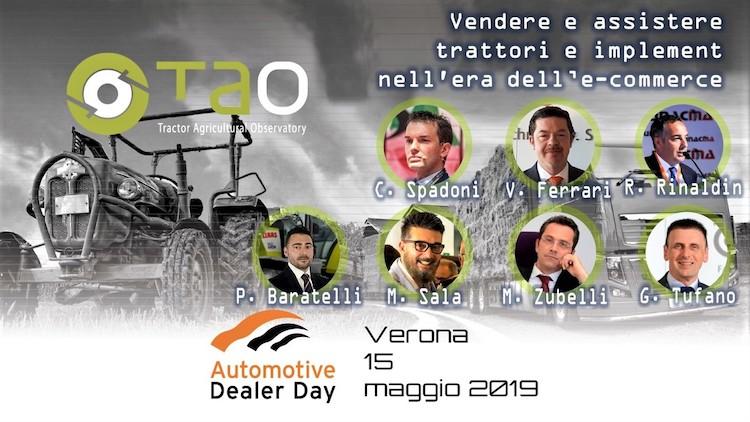 Tao 2019, vendita macchine agricole: focus su web e formazione