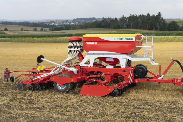 Lavorazione del suolo e semina in una sola passata