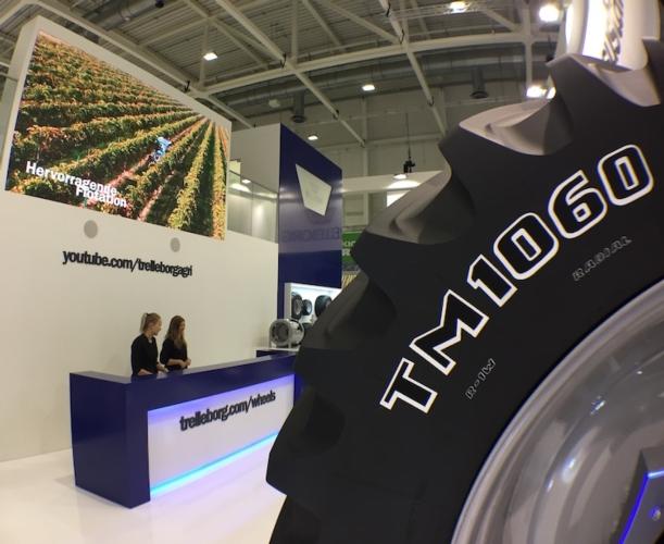 Trelleborg: nuovi prodotti e soluzioni per un'agricoltura sostenibile