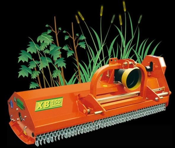 Linea XB Agrimaster. La trincia per erba, tralci di vite e actinidia