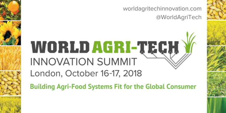 World Agri-Tech Innovation Summit London 2018