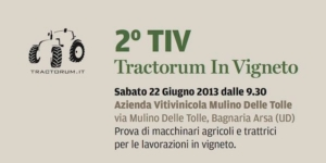 Tractorum in vigneto, al via le prove in campo