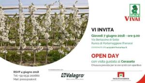 Salvi, open day con visita guidata al ceraseto - Plantgest news sulle varietà di piante