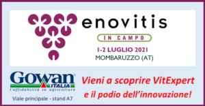 Gowan Italia a Enovitis con il nuovo VitExpert e il podio dell'innovazione
