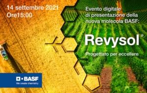 EVENTO ONLINE - BASF presenta in Italia Revysol<sup>®</sup>: il triazolo di nuova generazione