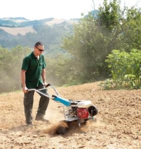 Professionale e affidabile, motozappa a ingranaggi Bertolini 215