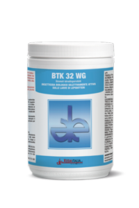 BTK 32 WG, l'insetticida naturale specifico per i lepidotteri