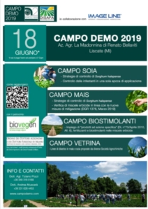Campo demo, focus biostimolanti - colture - Fertilgest
