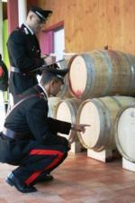 carabinieri-controllo-cantina-vini-fonte-nucleo-antifrodi-carabinieri-parma