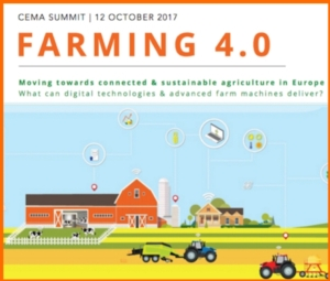 Cema Summit 2017: come incentivare il farming 4.0