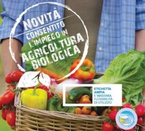 Eradicoat<sup>®</sup>, autorizzato in agricoltura biologica